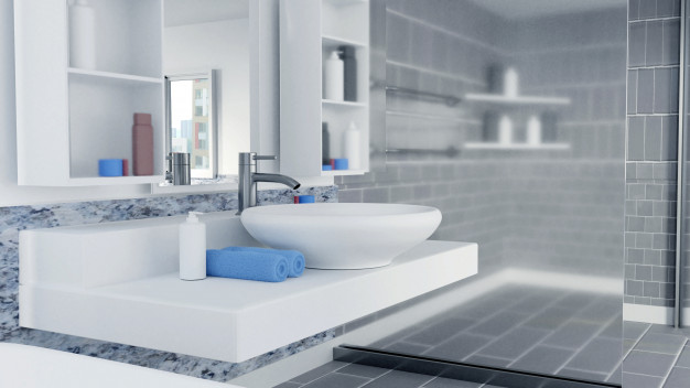 3d-rendered-bathroom-interior-design-with-blue-towels_40125-324
